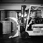 Forklift. The old press of the Statesman Journal is about to go dark. Newspapers will no longer be printed on-site in Salem.