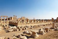 Nabo Temple, Palmyra, Syria. Ancient city in the desert that fell into disuse after the 16th century.