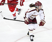 Ashley Motherwell (BC - 18) - The Boston College Eagles defeated the visiting Cornell University Big Red 4-3 (OT) on Sunday, January 11, 2012, at Kelley Rink in Conte Forum in Chestnut Hill, Massachusetts.