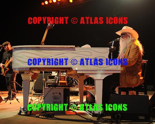 BOCA RATON FL - JANUARY 18 : Leon Russell performs at The Sunshine Blues Festival at The Mizner Park Ampitheatre on January 18, 2014 in Boca Raton, Florida. : Credit Larry Marano (C) 2014