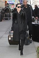 FEB 12 Kourtney Kardashian Seen in NYC