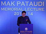 Cricket - Second Mansoor Ali Khan Pataudi Memorial Lecture