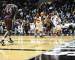 "Ole Miss' Murphy Holloway (31), Ole Miss' Marshall Henderson (22) and Arkansas Little Rock's Ben Dillard (24) go for the ball at the C.M. ""Tad"" Smith Coliseum in Oxford, Miss. on Friday, November 16, 2012. Ole Miss won 92-52."