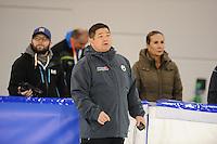 SCHAATSEN: HEERENVEEN: IJsstadion Thialf, 08-12-2016, ISU World Cup-training, ©foto Martin de Jong