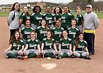 4-13-17, Huron High School junior varsity softball team