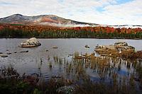 Autumn View, Mt. Katahdin  #L32