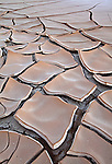 Cracked mud in Death Valley National Park, California, USA