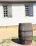 Whisky barrel  Colonial Williamsburg Virginia, Williamsburg Virginia 1699 to 1780 capital Commonwealth of Virginia molding democracy for the United States of America.  Williamsburg was the center of government, education and culture in the Colony of Virginia, george Washington, Thomas Jefferson, Patrick Henry, James Monroe, Hames Madison, George Wythe, Peyton Randolph and others molded democracy for the United States, Whisky barrel,