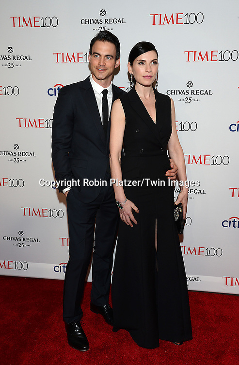 Julianna  Margulies and husband Keith Lieberthal attends the TIME 100 Issue celebrating the 100 Most Influential People in the World on April 21, 2015 <br /> at Frederick P Rose Hall at Lincoln Center in New York City, New York, USA.<br /> <br /> photo by Robin Platzer/Twin Images<br />  <br /> phone number 212-935-0770