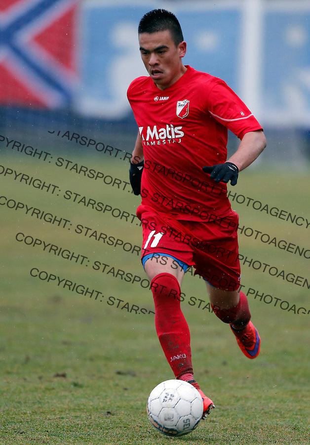 Husniddin Gafurov Super liga Srbije, Superliga, fudbal, Rad - Javor (Ivanjica)  Novembar 28. 2015. Beograd, Srbija, 28.11.2015.  (credit image & photo: Pedja Milosavljevic / STARSPORT)