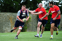 David Wilson of Bath Rugby in action. Bath Rugby pre-season skills training on June 21, 2016 at Farleigh House in Bath, England. Photo by: Patrick Khachfe / Onside Images