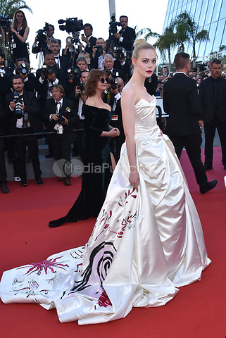 Elle Fanning<br /> arrivals at the opening gala premiere at the 70th Cannes Film Festival, France, May 17, 2017<br /> CAP/Phil Loftus<br /> &copy;Phil Loftus/Capital Pictures /MediaPunch ***NORTH AND SOUTH AMERICAS ONLY***