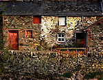 An old farmhouse with stone walls