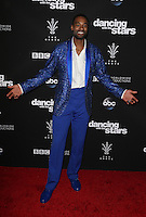 "Los Angeles, CA - NOVEMBER 22: Calvin Johnson Jr., At ABC's ""Dancing With The Stars"" Season 23 Finale At The Grove, California on November 22, 2016. Credit: Faye Sadou/MediaPunch"