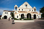 The Mission Play Theater built in 1922 in San Gabriel, Calfornia