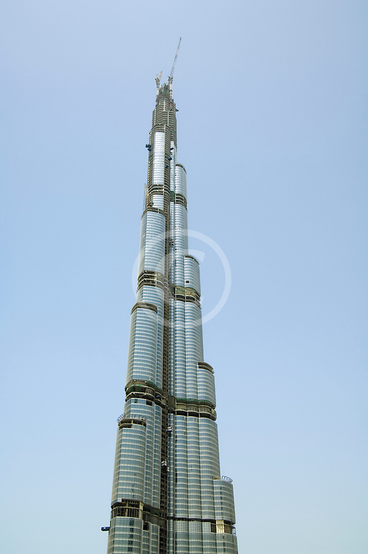 United Arab Emirates, Dubai, Burj Dubai tower, as of May 2008 the tallest man-made structure on Earth