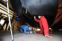 ZEILEN: IJLST: 02-11 nov.2016, Meting SKS Skûtsjes, ©foto Martin de Jong