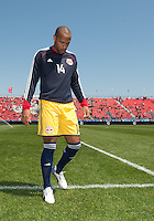 April 27, 2013: New York Red Bulls forward Thierry Henry #14 in action during the warm-up in a game between Toronto FC and the New York Red Bulls at BMO Field  in Toronto, Ontario Canada..The New York Red Bulls won 2-1.