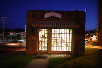 The Charlottesville Barbershop located on High Street  in Charlottesville, VA.