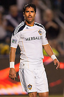 LA Galaxy forward Juan Pablo Angel (9). The LA Galaxy and Red Bulls of New York played to a 1-1 tie at Home Depot Center stadium in Carson, California on  May 7, 2011....