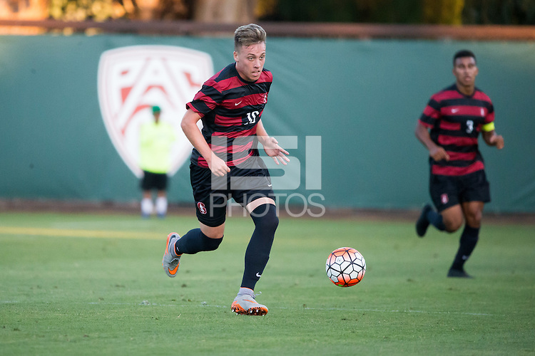 August 22, 2015, Stanford, CA:  Stanford Cardinal vs Santa Clara Broncos in a preseason game at at Laird Q. Cagan Stadium. The match ended in a 0-0 draw.