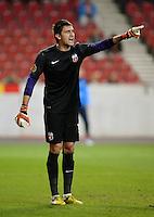 FUSSBALL   EUROPA LEAGUE   SAISON 2012/2013   20.09.2012 VfB Stuttgart - FC Steaua Bukarest Ciprian Tatarusanu (FC Steaua Bukarest)