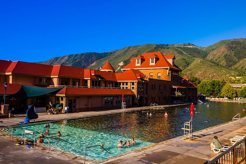 Glenwood Hot Springs, Glenwood Springs, Colorado USA