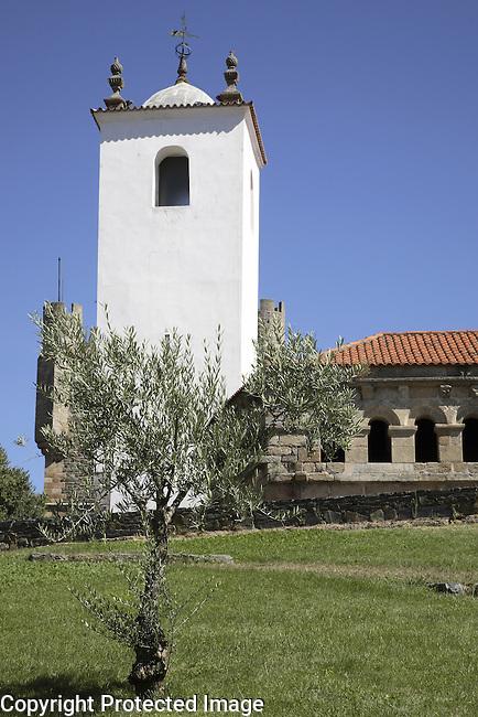 Santa Maria Church and Domus Municipalis; Cidadela; Braganca; Portugal