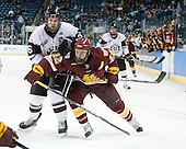 Brock Matheson (Union - 6), Jack Connolly (Duluth - 12) - The University of Minnesota-Duluth Bulldogs defeated the Union College Dutchmen 2-0 in their NCAA East Regional Semi-Final on Friday, March 25, 2011, at Webster Bank Arena at Harbor Yard in Bridgeport, Connecticut.