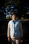 Alexis Koefoed poses for a portrait at Soul Food Farm in Vacaville, CA May 7, 2010.