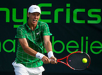 Tomas BERDYCH (CZE) against Horacio ZEBALLOS (ARG)  in the third round of the men's singles. Tomas Berdych beat Horacio 6.Zeballos 6-4 7-5..International Tennis - 2010 ATP World Tour - Sony Ericsson Open - Crandon Park Tennis Center - Key Biscayne - Miami - Florida - USA - Mon 29th Mar 2010..© Frey - Amn Images, Level 1, Barry House, 20-22 Worple Road, London, SW19 4DH, UK .Tel - +44 20 8947 0100.Fax -+44 20 8947 0117