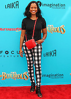 UNIVERSAL CITY, CA, USA - SEPTEMBER 21: Garcelle Beauvais arrives at the Los Angeles Premiere Of Focus Features' 'The Boxtrolls' held at Universal CityWalk on September 21, 2014 in Universal City, California, United States. (Photo by Celebrity Monitor)