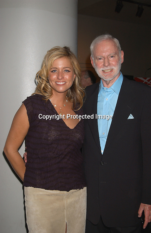 "Nancy Juvoven  and Leonard Goldberg                               ..at ""Charlie's Angels Full Throttle"" movie screening on ..June 25,2003 at the Loews Lincoln Center in New York ..City.  Photo by Robin Platzer, Twin Images"