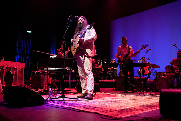 "September 6, 2012. Raleigh, North Carolina.. Matthew E. White's ""One Incantation Under God"".."