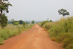 Another long dirt road to Chun's farm