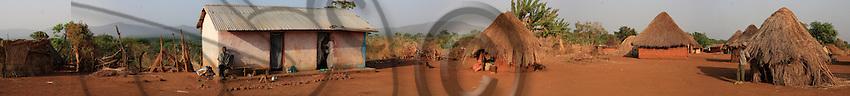 Adamawa village panorama.