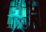 "Backstage at a performance of Yuri Grigorovich's ""New Swan Lake"", Bolshoi Ballet, Moscow, Russia, 2001"