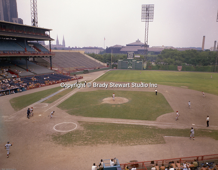 Oakland PA - WPIAL Championship Game at Forbes Field, June 1970.  Bethel Park vs Mt Pleasant for the Championship.  Bethel Park was in position to win the game but Mike Stewart was thrown out at home plate and Mt Pleasant scored the go ahead run in the next inning.  Bethel Park lost the game 4-2.