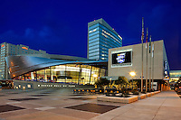 NASCAR Hall of Fame Exterior - Charlotte, NC