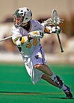23 March 2008: University of Vermont Catamounts' Shay Cunningham, a Senior from Southborough, MA, in action against the Bellarmine University Knights at Moulton Winder Field, in Burlington, Vermont. The Catamounts defeated the visiting Knights 9-7 at the Vermont home opener...Mandatory Photo Credit: Ed Wolfstein Photo