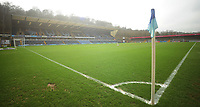 A general view of Adams Park, home of Wycombe Wanderers<br /> <br /> Photographer Kevin Barnes/CameraSport<br /> <br /> The EFL Sky Bet League Two - Wycombe Wanderers v Blackpool - Saturday 11th March 2017 - Adams Park - Wycombe<br /> <br /> World Copyright &copy; 2017 CameraSport. All rights reserved. 43 Linden Ave. Countesthorpe. Leicester. England. LE8 5PG - Tel: +44 (0) 116 277 4147 - admin@camerasport.com - www.camerasport.com