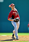 4 March 2012: Houston Astros' pitcher J.A. Happ in action against the Washington Nationals at Space Coast Stadium in Viera, Florida. The Astros defeated the Nationals 10-2 in Grapefruit League action. Mandatory Credit: Ed Wolfstein Photo