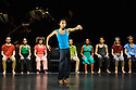 "National Youth Dance Company in dress rehearsal for the premiere of ""In-Nocentes"" at Sadler's Wells. Choreographed by Michael Keegan-Dolan, Artistic Director for NYDC for 2015 - 2016, with lighting design by Peter Harrison, set and costume design by Laura Hopkins. NYDC is touring the work from 26 June – 23 July 2016. The dancers are: Monique Ademilola, Jasmine Bayes, Tomas Brennan, Jamie Buchanan, Arthur Clayton, Isis Clunie, Olivia Doyle, Lucia Fortune-Ely, Christian Griffin, Bar Groisman, Rachael Harrison, Alex Henderson, Amie Hibbert, Christopher Hicks, Tommy Hodgkins, Noga Inspector, Taitlyn Jaiyeola, Kaylee Jaiyeola, Ethan Joseph, Niamh Keeling, Rose Lewis, Blue Makwana, Dominic McAinsh, Iona McGuire, Kennedy Muntanga, Daniel Nattrass, Jessica Nixon, Jasmine Norton, Ethan Nott, Chris Pilbeam, David Prempeh, Jackson Shallcross-Platt, Kia Skilbeck, Ben Todd-Jones, Tre Usoro-Williams, Chad Wakefield, Molly Walker, John-William Watson, George Williams, Hallam Wood. Picture shows: Ethan Joseph."