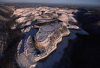Mountaintop Removal Mine in Winter<br />