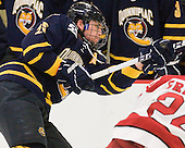 Mike Glaicar (Quinnipiac - 25) - The visiting Quinnipiac University Bobcats defeated the Harvard University Crimson 3-1 on Wednesday, December 8, 2010, at Bright Hockey Center in Cambridge, Massachusetts.