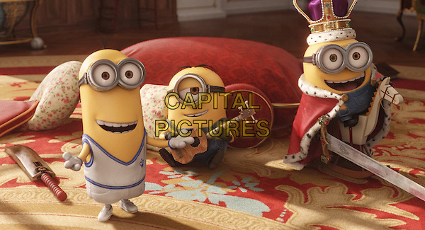 SCENE<br /> in Minions (2015) <br /> *Filmstill - Editorial Use Only*<br /> CAP/FB<br /> Image supplied by Capital Pictures