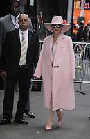 OCT 21 Lady Gaga At Good Morning America