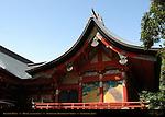 Treasure House, Hongu Senior Shrine, Tsurugaoka Hachimangu Shrine, Kamakura, Japan