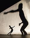 London, UK. 27.09.2013. Cedar Lake Contemporary Ballet present a Triple Bill at Sadler's Wells. This piece is INDIGO ROSE by Jiri Kylian. Dancers are: Billy Bell, Jonathan Bond, Vania Doutel Vaz, Jason Kittelberger, Joseph Kudra, Navarra Novy-Williams, Joaquim de Santana, Ebony WIlliams, Jin Young Won. Photograph © Jane Hobson, 2013.