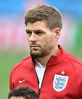FUSSBALL WM 2014  VORRUNDE    GRUPPE D     Uruguay - England                     19.06.2014 Steven Gerrard (England)
